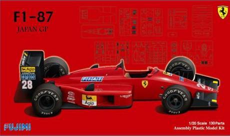 1/20 GP27 フェラーリ F1-87 日...