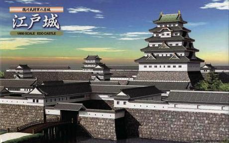 城7 1/800 江戸城