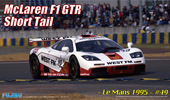 1/24 RS26 マクラーレン F1 GTR ショートテール 1995 ル・マン #49 WEST FM