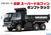1/24 TR2 日野 スーパードルフィン ダンプトラック
