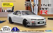 1/24 カーES1 R34スカイライン GT-R