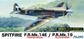 1/72F60 スピットファイア Mk.14E / Mk.19