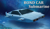 1/24 BOND CAR Submarine