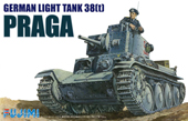 1/76 WA4 ドイツ陸軍 38t軽戦車 プラガ