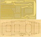 ちび丸Gup9 ちび丸 翔鶴・瑞鶴 専用木甲板シール