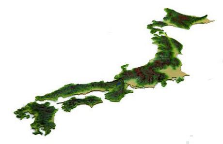 くまモン14 日本地図 くまモンバージョン