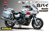 1/12 BIKE14EX-1 Honda CB1300P 白バイ 特別仕様(埼玉県警交通機動隊)