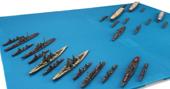 1/3000 軍艦16 南太平洋海戦セット(翔鶴/瑞鶴/瑞鳳/彩色済み艦載機付き)