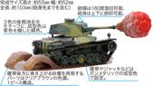 TM9EX-1 ちび丸 三式中戦車 チヌ 特別仕様(エフェクトパーツ付き)