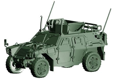 1/72 ML17 陸上自衛隊 軽装甲機動車 (国教隊)