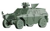 1/72 ML18 陸上自衛隊 軽装甲機動車(中隊長車/機関銃搭載車)