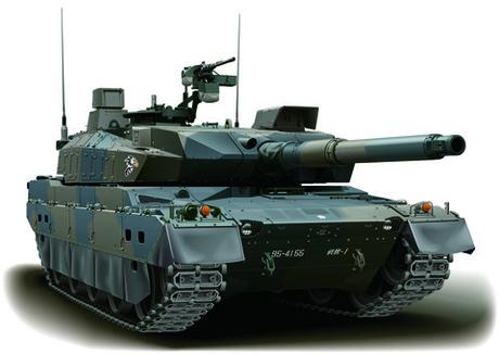1/72 ML10 陸上自衛隊 10式戦車 2両セット