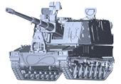 1/72 ML11 陸上自衛隊 99式自走155mm榴弾砲