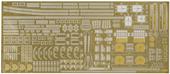 1/700 特30EX-1 日本海軍重巡洋艦 利根 エッチングパーツ (w/2ピース25ミリ機銃)