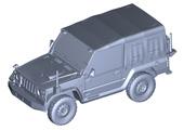 1/72 ML12 陸上自衛隊 1/2tトラック(部隊用)