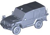 1/72 ML13 陸上自衛隊 1/2tトラック(警務隊)