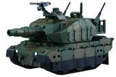 TMSPOT8 10式戦車 エッチングパーツ付き