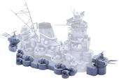 1/200 装備品5 戦艦大和 中央構造外郭