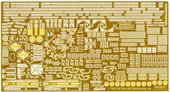 1/700 特39EX-2 日本海軍航空戦艦 伊勢 エッチングパーツ(w/2ピース25ミリ機銃)