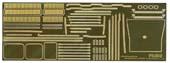 1/700 艦NX4EX-1 日本海軍航空母艦 赤城 木甲板シール(w/艦名プレート)