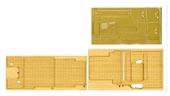 1/350 艦船11EX-2 日本海軍航空母艦 加賀 木甲板シール(艦名プレート付属)