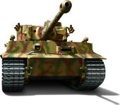 1/72 ML5 ドイツ陸軍 重戦車 ティーガ―Ⅰ 初期型 2両セット