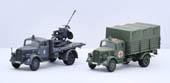 1/72 ML21 ドイツ軍 3tトラック(迷彩塗装/救護車/対空機銃搭載 )