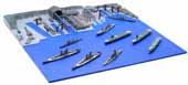 1/3000 軍港3EX-2 呉軍港 (この世界の(さらにいくつもの)片隅に)重巡青葉パッケージ