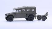 1/72 ML20 陸上自衛隊 重迫牽引車/120ミリ迫撃砲RT