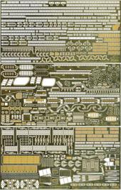 1/350 艦船8EX-101 日本海軍航空母艦 飛龍用 エッチングパーツ(w/艦名プレート)