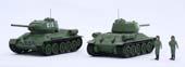 1/76 SWA34 ソビエト中戦車 T-34/85 (2両セット)