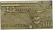 1/700 艦NX4EX-101 日本海軍航空母艦 赤城用 エッチングパーツ(w/艦名プレート)