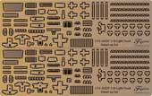 1/72 ML205 陸上自衛隊 1/2tトラック (部隊用+警務隊用)純正エッチングパーツ