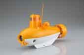 自由研究61EX-3 のりもの編 潜水艦(オレンジ×ホワイト)