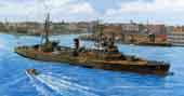1/700 特26EX-1 日本海軍敷設艦 沖島 特別仕様(艦名プレート付き)