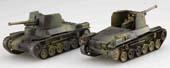 1/76 SWA33EX-1 日本陸軍 一式砲戦車 ホニ(2両セット)特別仕様 (日本陸軍歩兵付き)