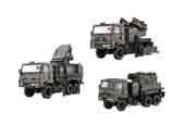 1/72 ML23 陸上自衛隊 81式 短距離地対空誘導弾 射撃統制装置/発射機 3両セット