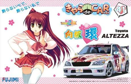 1/24 CD41 向坂環 ToHeart2 DX plus/Toyota アルテッツァ RS200 GT-W Wing