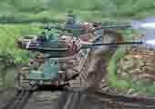 1/76 SWA35 陸上自衛隊61式戦車 (2両入り)