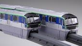 1/150 STR14EX-1 東京モノレール10000形6両編成(未塗装キット)