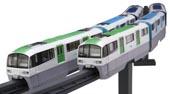 1/150 STR15EX-1 東京モノレール2000形6両編成(未塗装キット)