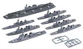1/3000 軍艦30EX-1 海上自衛隊第1護衛隊群 特別仕様(艦載ヘリ付き)