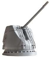1/70 装備品6 護衛艦こんごう型54口径127mm速射砲