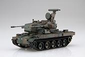 1/72 ML9EX-2 陸上自衛隊 87式自走高射機関砲 特別仕様(隊員付き 2両入り)
